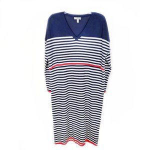 ASOS oversized striped long sleeve knit dress 10